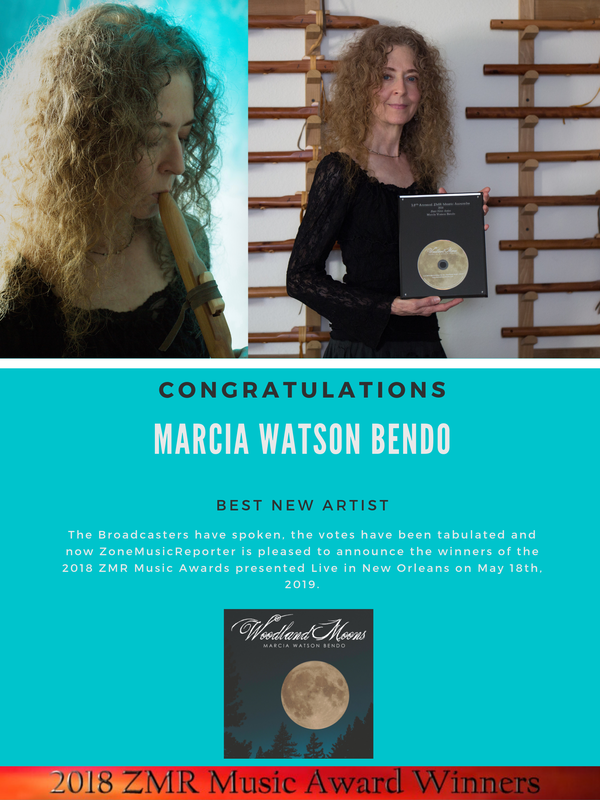 Marcia Watson Bendo wins Best New Artist - ZMR Awards